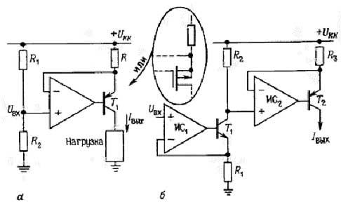 схемы источника тока на